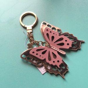 Kate Spade  Butterfly Keychain/Bag Charm